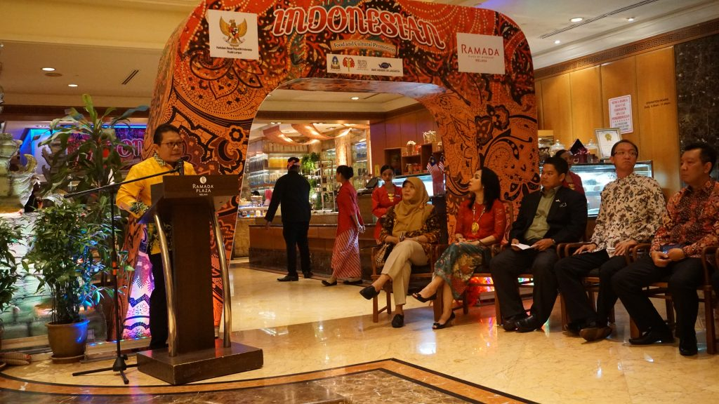 "RBI Sukseskan ""Food and Cultural Promotion"" di Ramada Plaza Hotel Melaka"